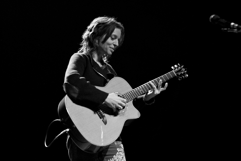 Ani Di Franco performs, Glasgow