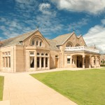 exterior shot Royal Troon