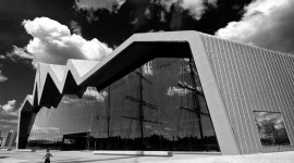 On the Banks of The Clyde, The Riverside Museum.. A scottish triumph of architecture