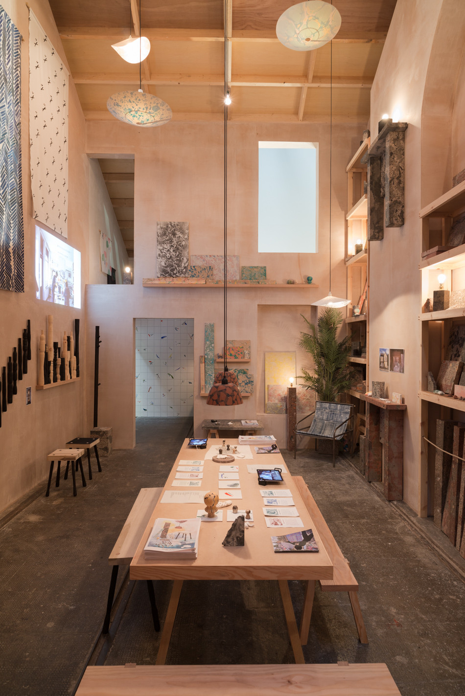 Assemble 'Granby Workshop' and Turner Prize Installation at Tramway, Glasgow
