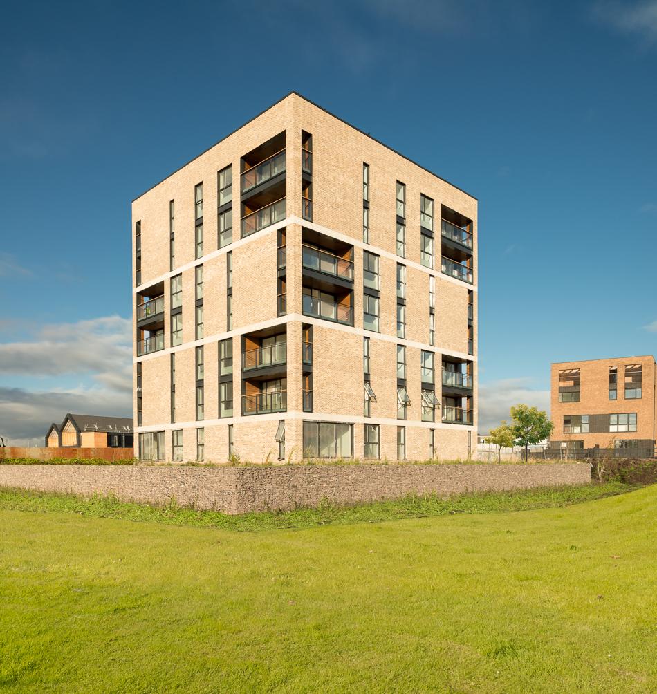 Glasgow 2014 athletes village rmjm east end regeneration for Modern homes glasgow 2018