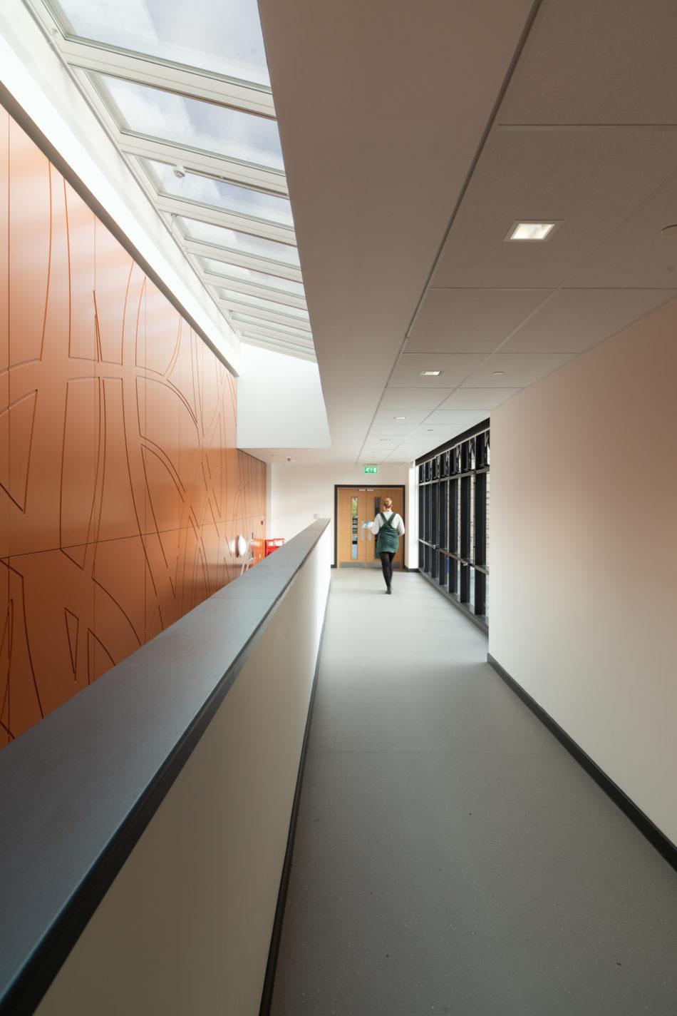 Interior Photography. School Design. Velux