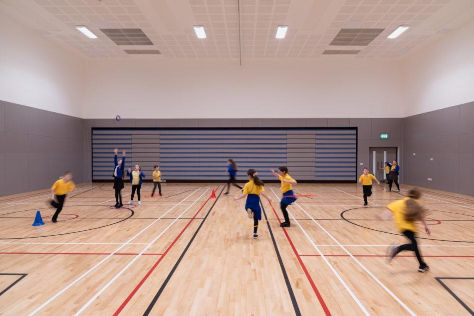 Interior Photography, sports hall