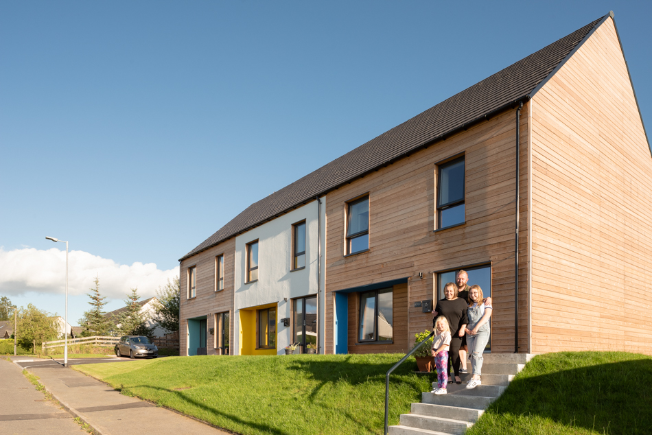 Passive House Homes in Closeburn, Dumfries and Galloway